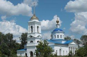 церковь иконы Божией Матери Казанской, с. Большое Самарино