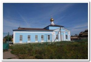 Никольский храм с.Нов еголдаево