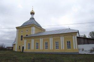 никольский храм.Петрово
